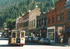wallace, idaho - take a trolley ride up to the silver mine and do the tour.  they take you underground and explain the mining process.  very cool.