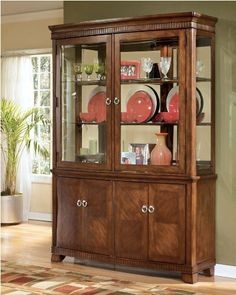 La Salle China Buffet By Signature Design Ashley 122500 Alive With An Exciting Dining Room HutchDining RoomsChina