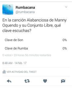 Síguenos en twitter @rumbacana y participa en nuestra pregunta de hoy... Invita un amigo al #SanoVicioDeBailar  y #BailaParaDivertirte