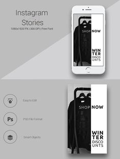 Fashion Instagram Stories #066 by UNIK Agency on @creativemarket