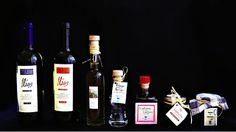 Bio, homemade, certified, Greek: White & red wine, olive oil, tsipouro, liqueur, honey, fruit in syrup