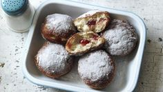 BBC - Food - Recipes : Jam doughnuts by Paul Hollywood from the Great British Bake Off