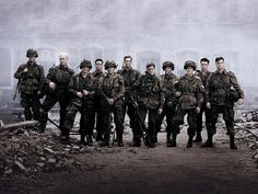 Band of Brothers. Absolutly love this series. If you havent seen it, I highly suggest it. And the music is amazing!
