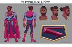 "Jonathan Belle | Superman on Instagram: ""Thank you @kevineleventh for this! I am so gonna find a way to print this out and wear it! I have no words. Really. Thank you for taking…"" Character Sheet, Character Design, Latino Artists, Drawing Superheroes, Superman Costumes, Superman Art, Hope Symbol, Art Portfolio, Iron Man"