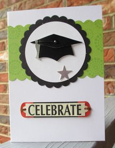 Graduation Card Celebrate by MissTanDesigns on Etsy, $3.00