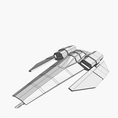 free wipeout ship feisar 3d model - Feisar Ship by charnel