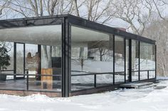 The Philip Johnson Glass House is open for tours from May 1 through November 30. theglasshouse.org