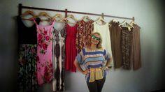 ANA MODA E IDEAS - http://anamodaeideas.blogspot.com: MY DAY IN BLUE-- SHOWROOM ANA MODA E IDEAS