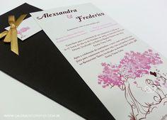 Convite casamento ilustração - Galeria de Convites