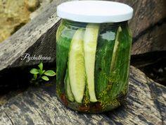 Ogórki po papiesku z rodzynkami | Pychotkaaa Food Design, Nutella, Pickles, Cucumber, Recipes, Rezepte, Pickle, Recipe