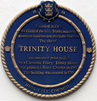 Heritage Plaque****Trinity House""
