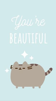 pusheen the cat iphone wallpaper Pusheen Love, Pusheen Cat, Unicornios Wallpaper, Kawaii Wallpaper, Kawaii Drawings, Cute Drawings, Chat Kawaii, F2 Savannah Cat, New Iphone