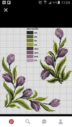 Ideas embroidery designs cross stitch punto croce for 2019 Cross Stitch Borders, Cross Stitch Flowers, Counted Cross Stitch Patterns, Cross Stitch Designs, Cross Stitching, Hand Embroidery Designs, Diy Embroidery, Embroidery Patterns, Free To Use Images