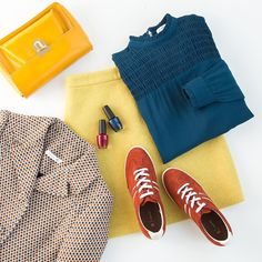 We love wearing winter brights. What do you think?