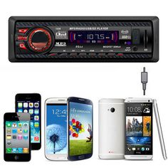 12V Car Stereo FM Radio MP3 Audio Player USB/SD/AUX/APE/FLAC Car Electronics Subwoofer Dash FMAUX Sale - Banggood.com