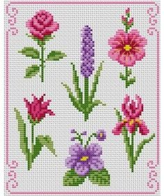 The perfect combination. Tons of FREE CROSS-SITCH PATTERNS at this site: just found a site that has really easy to download embroidery patterns for free. It's http://club-point-de-croix.com/?code_avantage=CWcplRsmji Plus, if you click on this link, http://club-point-de-croix.com/?code_avantage=CWcplRsmji  , you'll automatically receive a gift when you subscribe. I use this site all the time; there are hundreds of all different types of patterns, and there are new patterns added everyday.