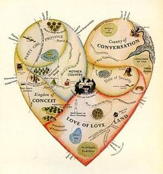 Heart Map - Katherine Harmon - Personal geographies and other maps... by verapret, via Flickr