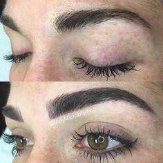 Risultati immagini per microblading eyebrows healed