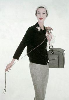 Vintage Fashion ~ 1953 Sabot for Goodman-Scheinhorn.