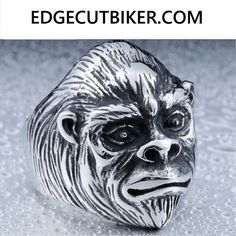 Now available in our store: Edge Cut Animal M... Check it out here! http://edgecutbiker.com/products/edge-cut-animal-monkey-ring?utm_campaign=social_autopilot&utm_source=pin&utm_medium=pin
