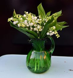 Lilly of the valley ... Can you smell them? #clausdalby #flowers #blomster #garden #bouquet