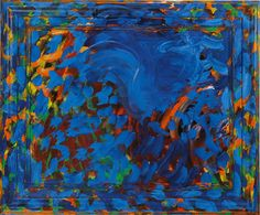 Howard Hodgkin - Writing 1991 - 1993 45 x 54 x Oil on wood Patrick Heron, Howard Hodgkin, Turner Prize, Contemporary Abstract Art, Cool Art, Awesome Art, Abstract Expressionism, Printmaking, Gallery