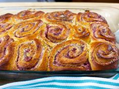 Get cream cheese and jellu Challah Breakfast Buns Recipe from Food Network and smitten kitchen.
