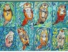 Animal Art Projects For Kids Schools Grades 34 Ideas Classroom Art Projects, School Art Projects, Art Classroom, 3rd Grade Art Lesson, Third Grade Art, Animal Art Projects, Animal Crafts, Art Curriculum, Kindergarten Art
