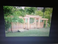 Garden gate and fence idea