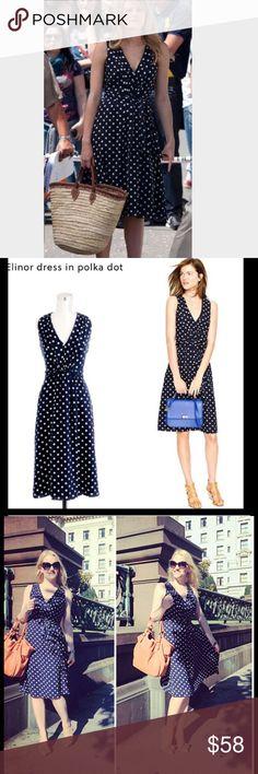 J.crew polka dot dress Excellent condition J. Crew Dresses