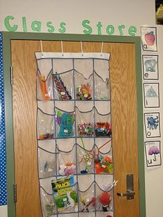LOVE this idea of displaying the supplies children can buy... always keeping their eyes on the prize..
