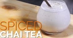 Enjoy a delicious #spiced #Chaitea with My Health TV.   Shopping List (Serves 2 People) 1/2 Teaspoon Cardamom 1/2 Teaspoon Cinnamon  1/2 Teaspoon Nutmeg 4 Cloves Milk or Coconut  Vanilla Pod