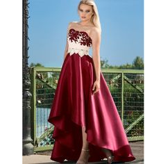 Tafta is dantela. Cu buzunare laterale Strapless Dress Formal, Formal Dresses, Fashion, Dresses For Formal, Moda, Formal Gowns, Fashion Styles, Formal Dress, Gowns