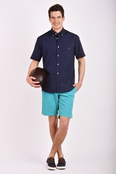 Leave nothing to chance with our selection of trendy yet timeless men's shirts. Eden Park, Shirt Sleeves, Button Down Shirt, Men Casual, Mens Tops, Shirts, Fashion, Moda, Dress Shirt
