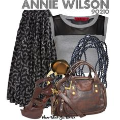 Inspired by Shenae Grimes as Annie Wilson on 90210