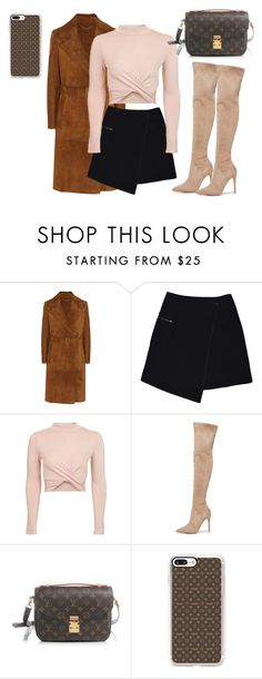 """""""#Lv days"""" by joe-khulan on Polyvore featuring Burberry, MARC CAIN, Topshop, Kendall + Kylie, Louis Vuitton and Casetify"""