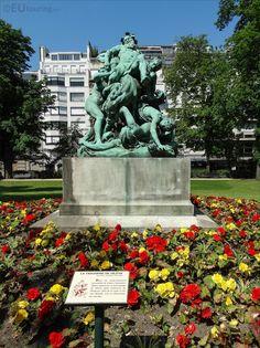 Le Triomphe De Silene Statue Group By Aime Dalou Luxembourg Gardens, Public Garden, Paris Photos, Paris France, Garden Sculpture, Outdoor Decor, Flowers, Statue, Group
