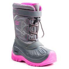 Made for serious fun in deep snow, KODIAK GLO boots keep little feet warm  all