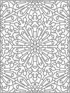 Welcome to Dover Publications  Creative Haven Mandala Madness Coloring Book
