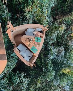 I'm like a bird 🦜 Can you imagine what it's like to eat breakfast inside this bamboo pod on the tree tops? COOLEST EXPERIENCE EVER 🤯 Thank you for making my wildest dreams come true ♥️🎥✨ Fun Places To Go, Beautiful Places To Travel, My Adventure Book, Adventure Travel, Amazing Destinations, Holiday Destinations, Dream Vacations, Vacation Spots, Beste Hotels