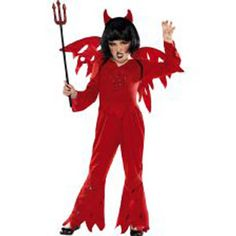 Devil Costume Costume includes Trousers, Top, Wings and Horns. http://www.novelties-direct.co.uk/Devil-Costume.html