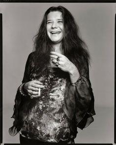 Janis Joplin by Avedon.