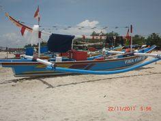 Fishingboats on Jimbaran.