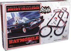 Batman 1966 TV Slot Car Race Track Set