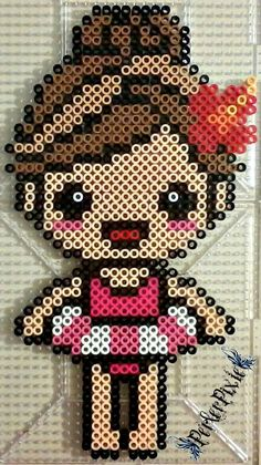 ~Tee hee, Isn't she cute!? I didn't come up with the designs for this, however I did make the perler as shown. Full credit goes to the original creator(s). If anyone knows who the original creator(...