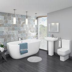8 Biggest Bathroom Trends of 2016 So Far Diy Apartment Decor, Apartment Kitchen, Diy Home Decor, Home Decor Outlet, Plumbing, Victorian, Modern, Budgeting, Rustic