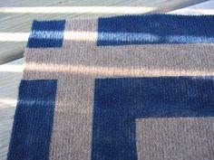 paint your own indoor/outdoor area rug.