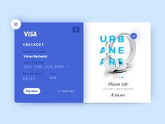 Credit Card Checkout, all in blue!  I hope you guys enjoy it!