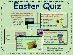 Easter Quiz - 60 questions