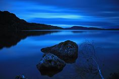 Beautiful Loch Blue - Bunachton, Scotland by Gordie Broon, via #ScottishRoutesPinterest